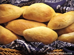 Homemade Yeast Bread Rolls in a Basket Bake This Bread