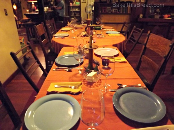 Country Table Setting at the River House BakeThisBread