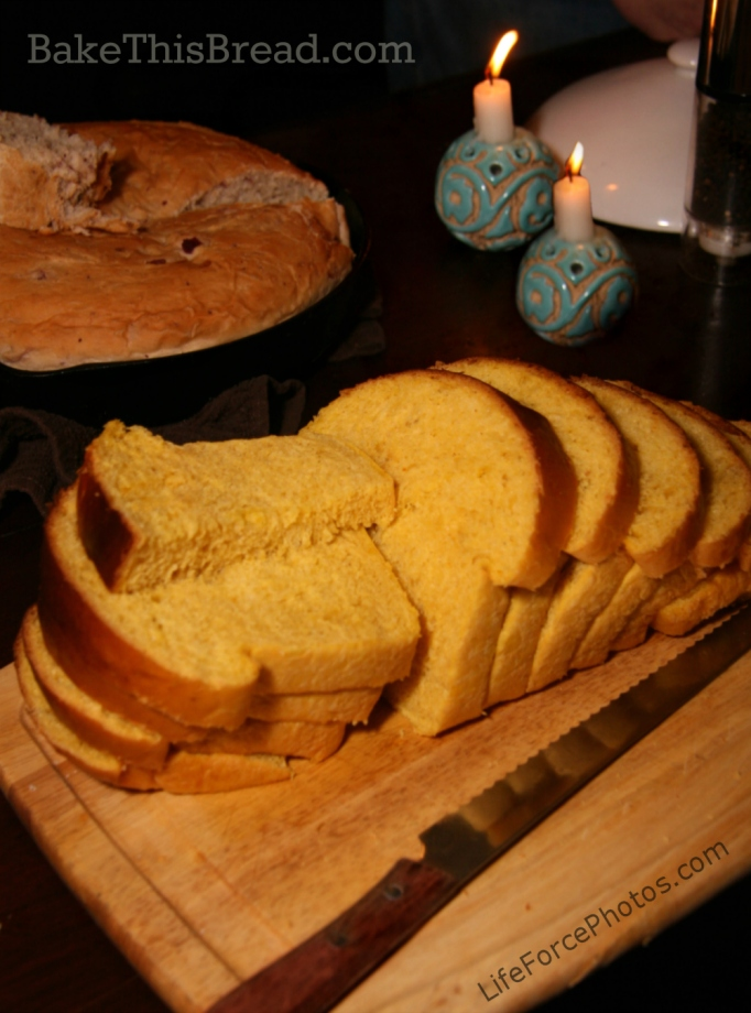 Sliced Pumpkin Bread Loaf LifeforcePhotos for Bake This Bread