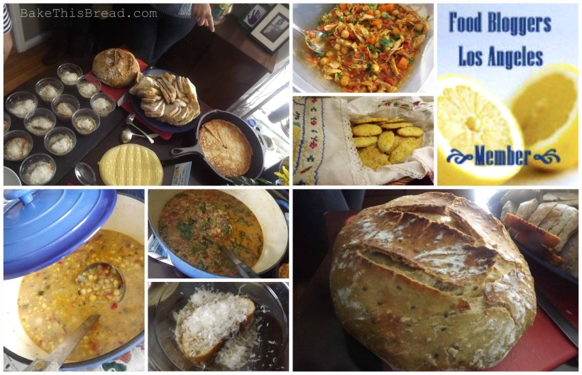 Food Bloggers Los Angeles FBLA Soups Stews Meeting Bake This Bread