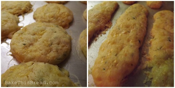 Round Cheese Balls and Long Cheese Puff Crackers Bake This Bread recipe