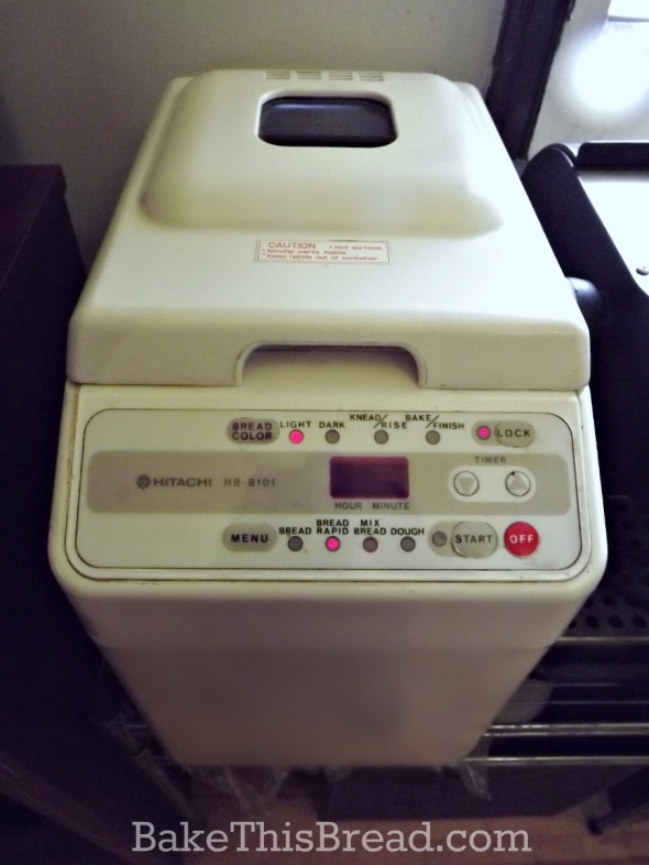 Bread Machine for homemade yeast bread by bake this bread