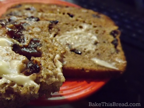 Toasted Homade Cinnamon Swirl Toast with Honey Butter by bake this bread